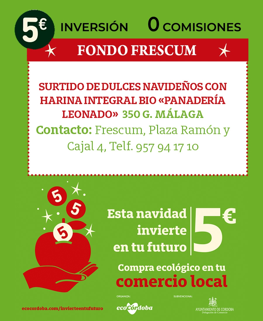 Mantecados con harina Bio elaborados en Malaga.
